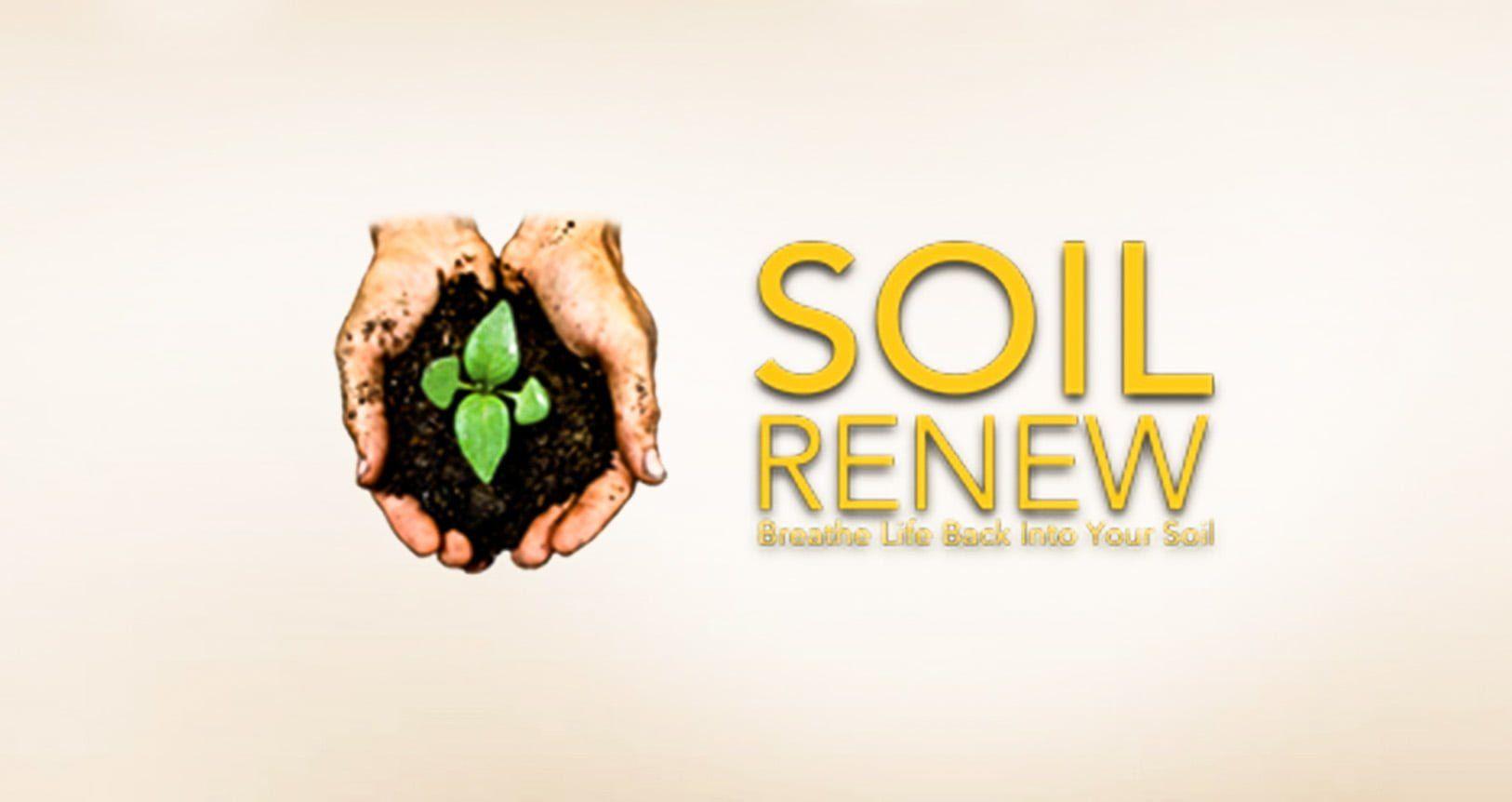 Soil Renew - Breathe life back into the soil - Branding