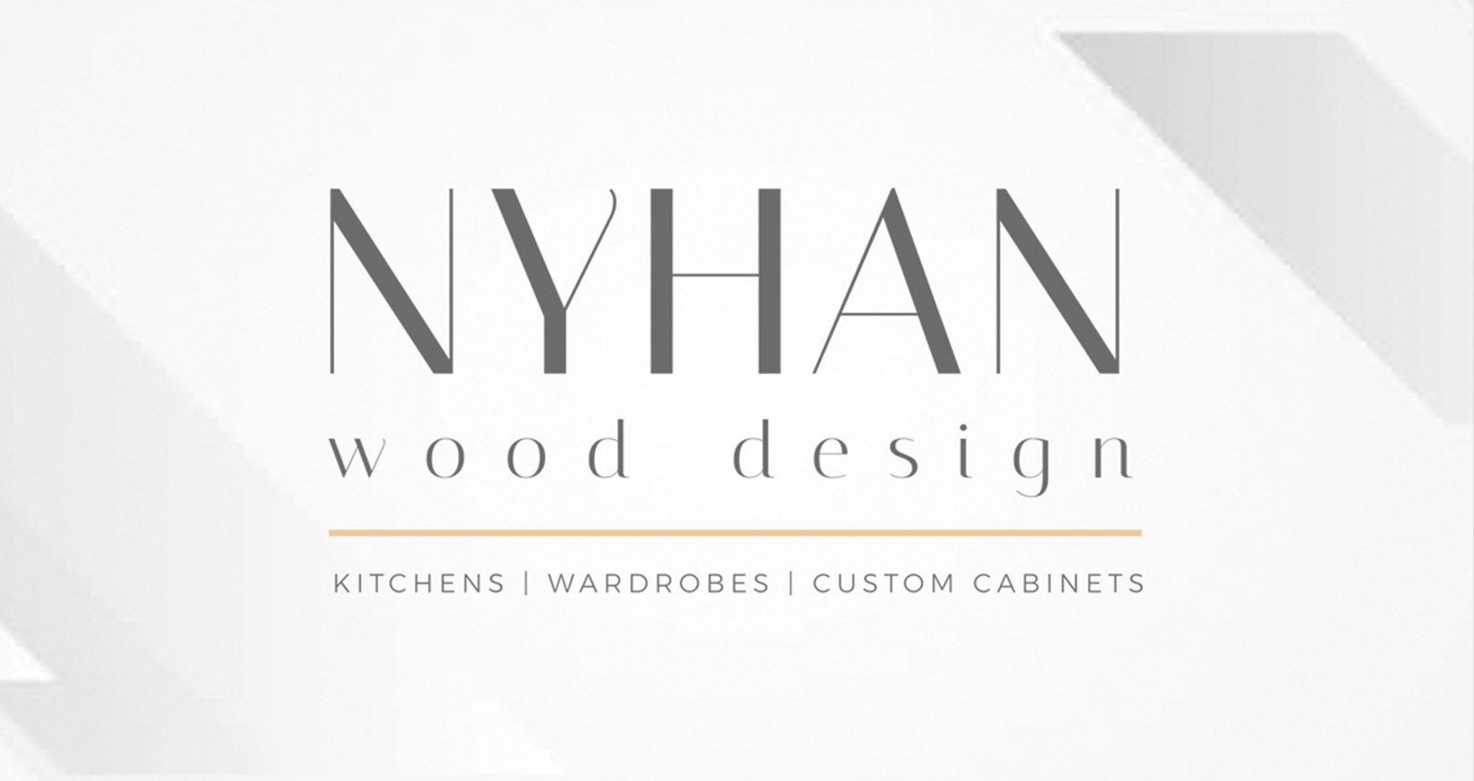 Nyhan wood design Branding