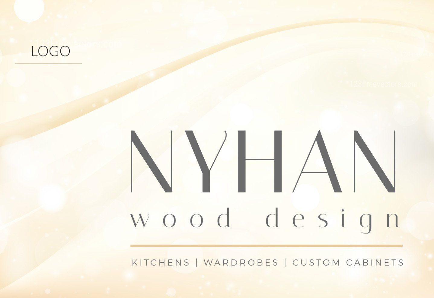 Nyhan wood design - Logo Branding